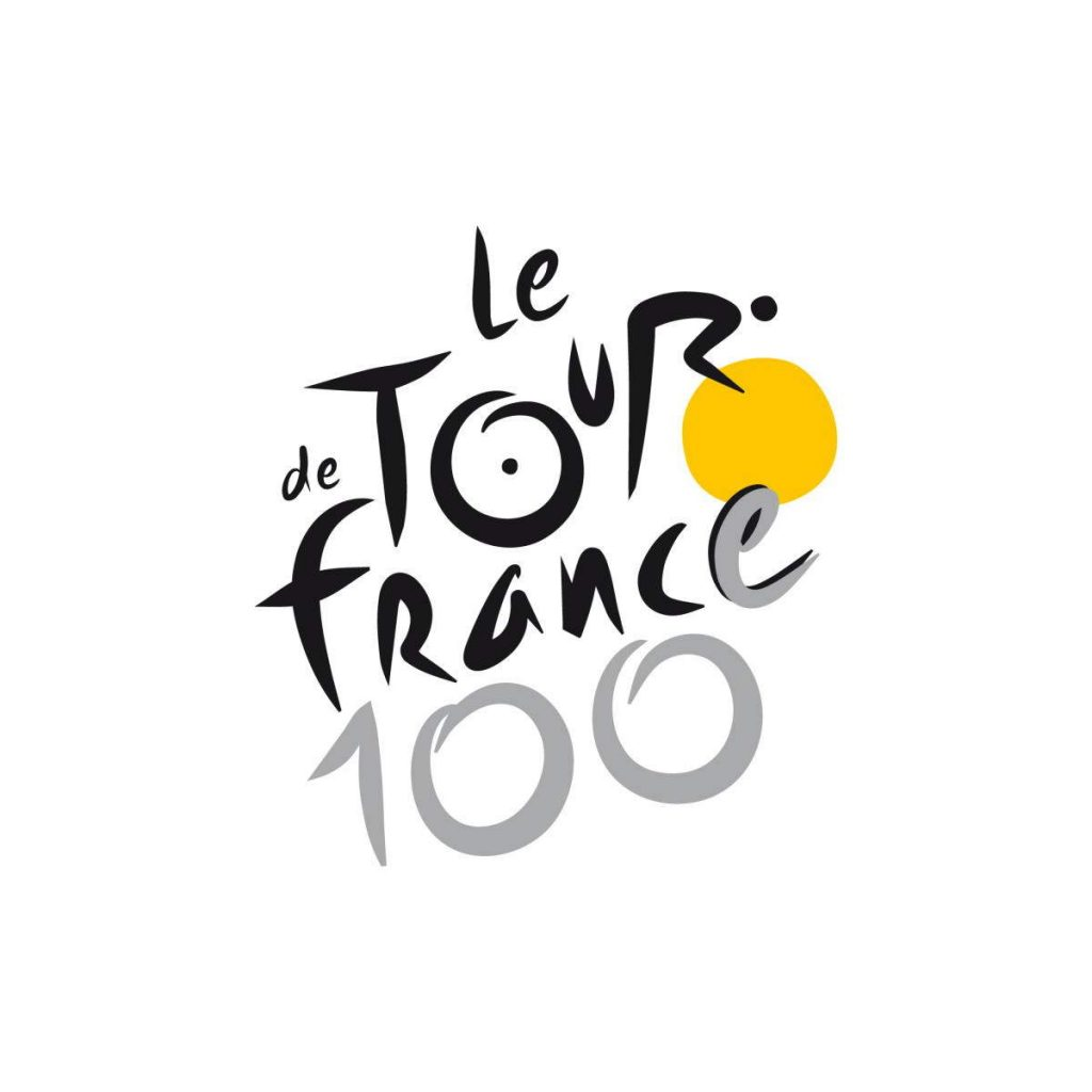 Tour de France 2013 (the 100th edition) logo