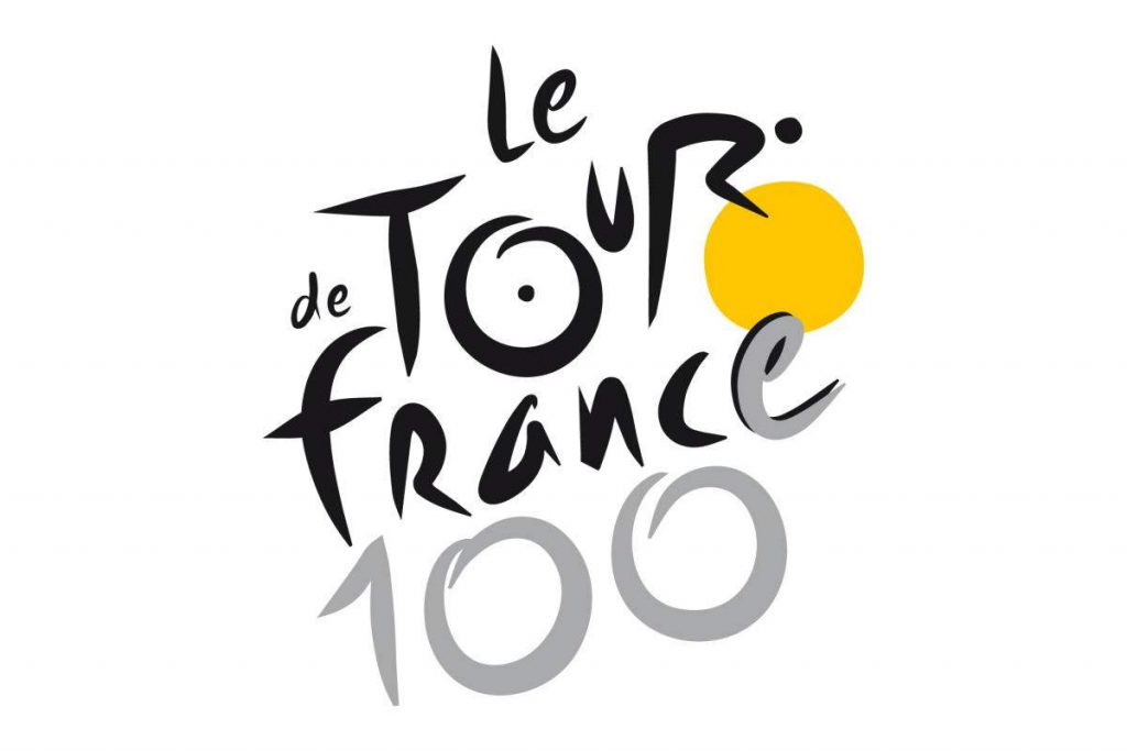 Tour de France 2013 (the 100th edition) logo (featured)