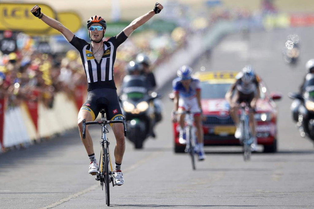 Steve Cummings (MTN-Qhubeka) wins Tour de France 2015 stage 14