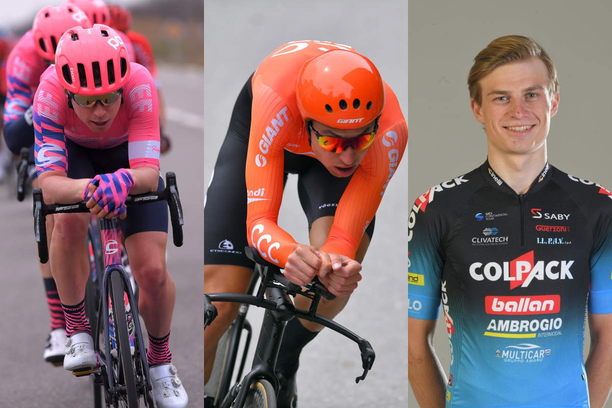 Bennett, Wisniowski, and Vacek signs with Team Qhubeka ASSOS