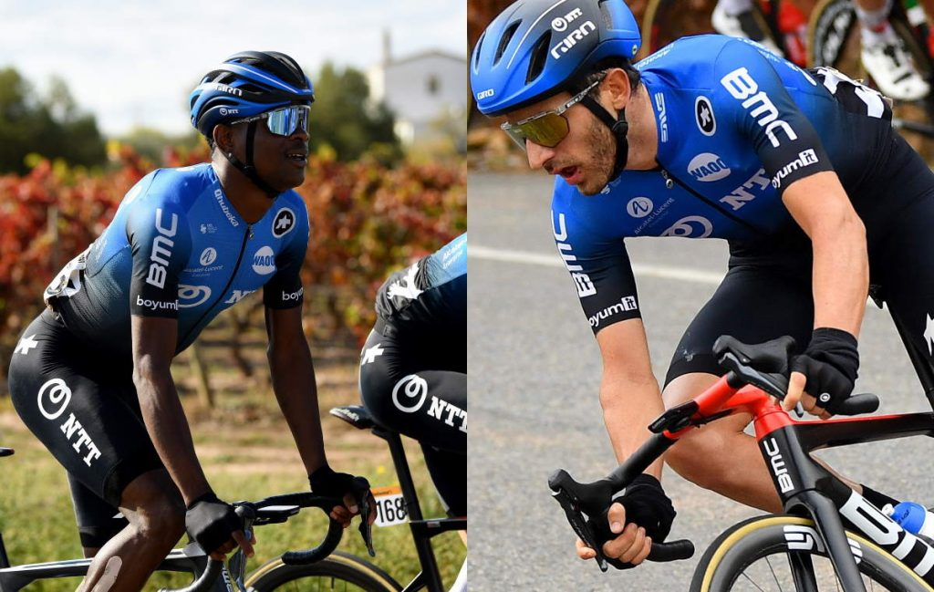 Nicholas Dlamini and Carlos Barbero sign-on with Team Qhubeka ASSOS