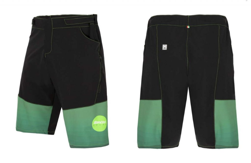 Santini Premium Custom Clothing - Off-road cycling: Bosco shorts
