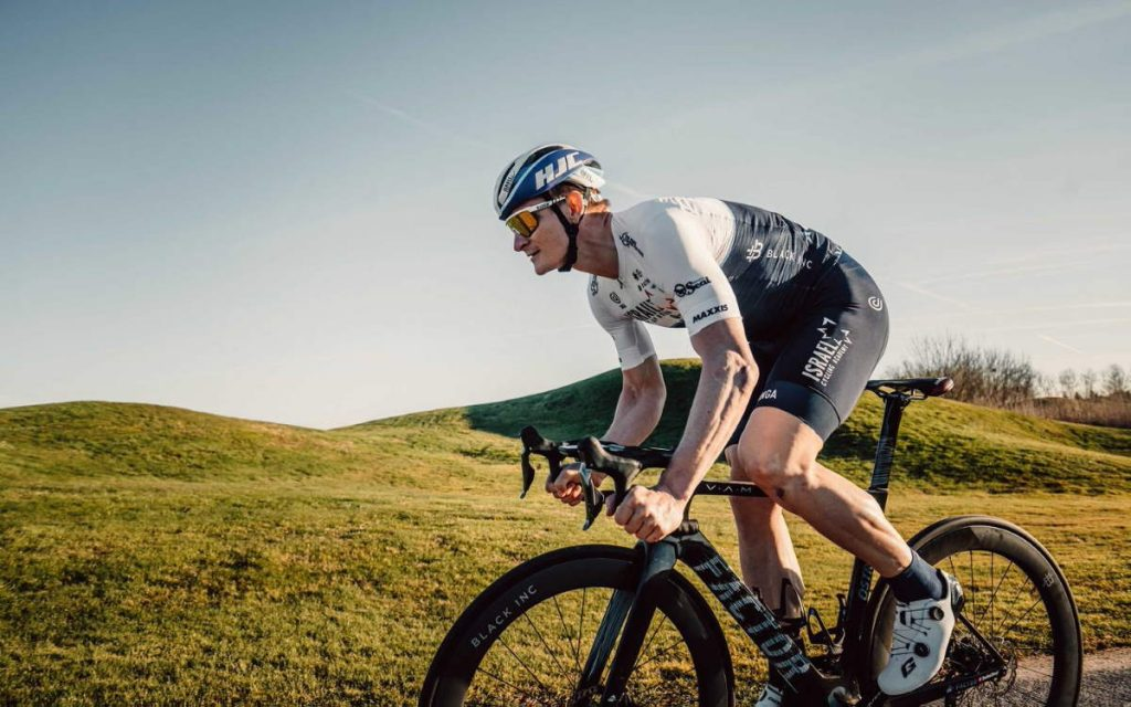 André Greipel of Israel Start-Up Nation will use Selle Italia Flite Boost Pro Team at the Strade Bianche 2021