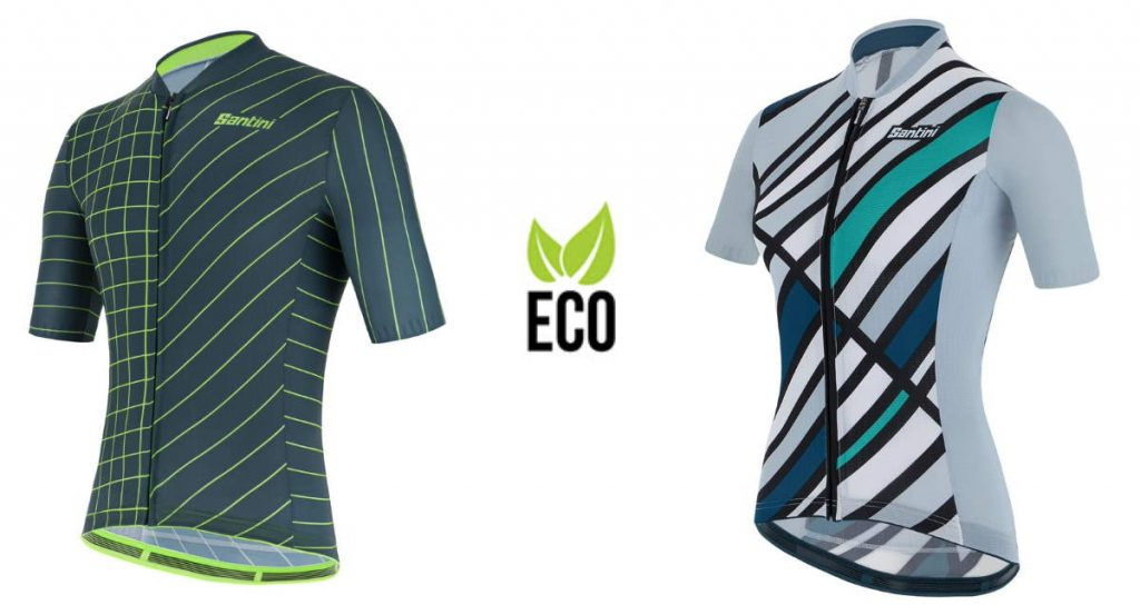 Santini Eco-Friendly Jerseys 2021 cycling collection