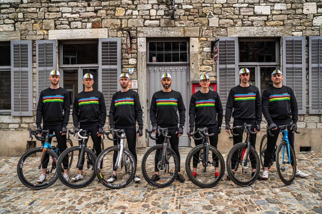 Santini Cycling Wear and the UCI are launching a new partnership with Belgian men's lifestyle brand, ANTWRP