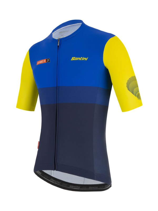 Santini Vuelta a España 2021 jerseys - Special Galicia kit for stage 21 - jersey (front)