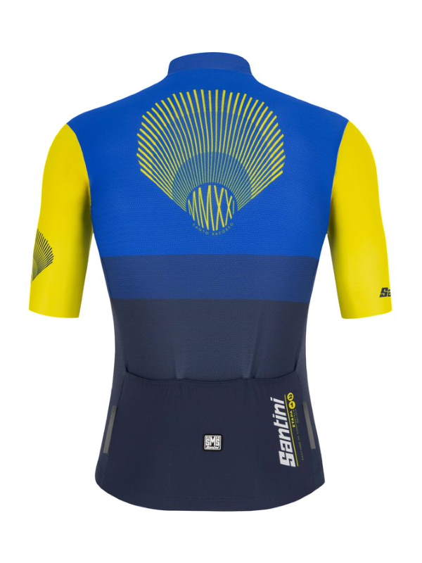 Santini Vuelta a España 2021 jerseys - Special Galicia kit for stage 21 - jersey (rear)